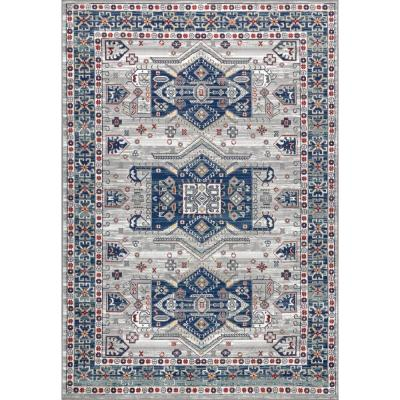Jonathan Y Modern Persian Vintage Moroccan Light Grey Blue 8 Ft X 10 Ft Area Rug Mdp108a 8 The Home Depot In 2020 Vintage Moroccan Blue Grey Rug Vintage Moroccan Rugs