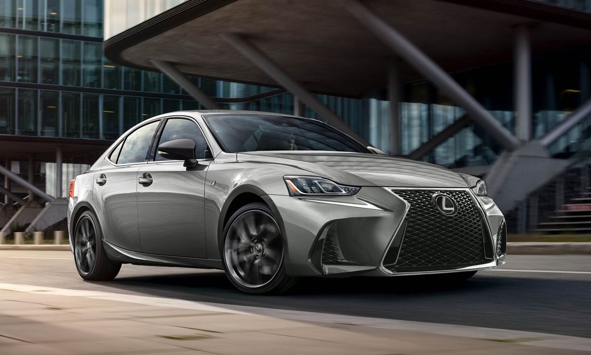 Lexus IS 300 F Sport Black Line Special Edition Ups The