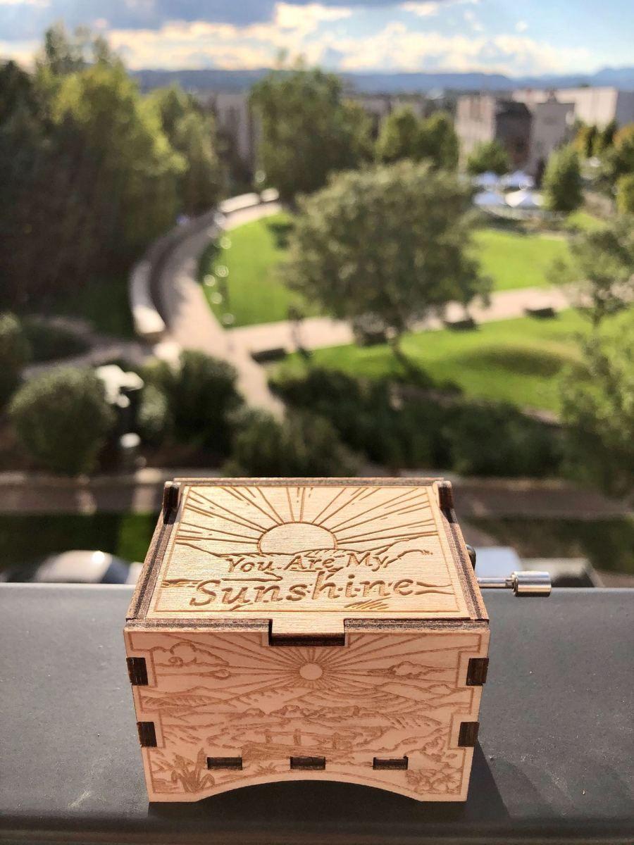 Engraved music boxbuy 2 free shipping