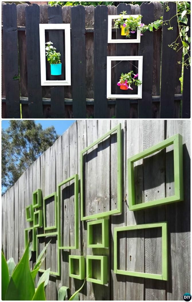 Backyard Garden Fence Decoration Makeover Diy Ideas With Images