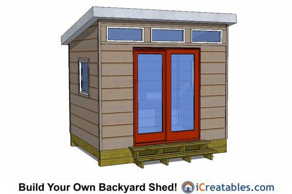 8x10 Shed Plans Diy Storage Shed Plans Building A Shed Modern Shed Building A Shed Shed Plans