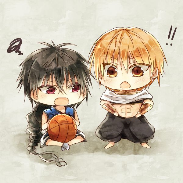 Cross-Over _ Kuroko no Basket, MAGI: The Labyrinth of Magic _ Judal & Kise Ryouta