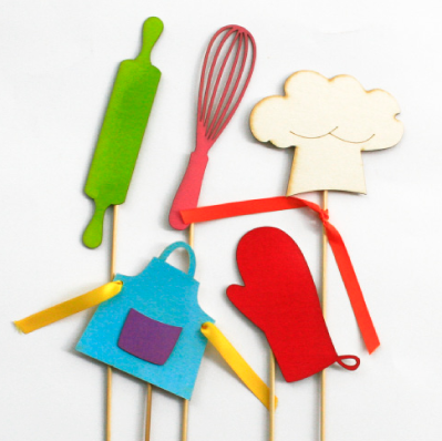 Themed Props Cooking Parties Kids party decor Bugzplaypark Cape