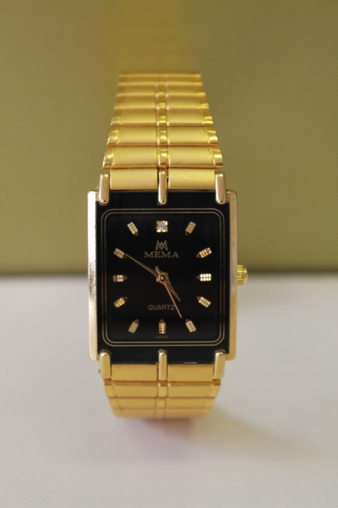 MEMA QUARTZ wrisrtwatch,made in Japan 22К Electro Gold plated Nr