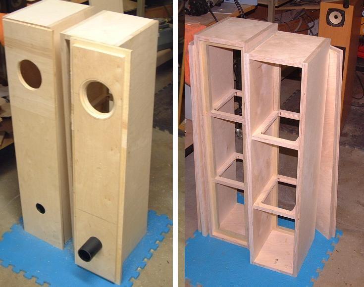 Infinite Baffle Enclosure :: Loudspeaker Enclosure Design and ...
