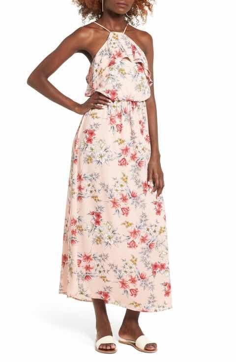 2ffdab946be Lush Ruffle Maxi Dress