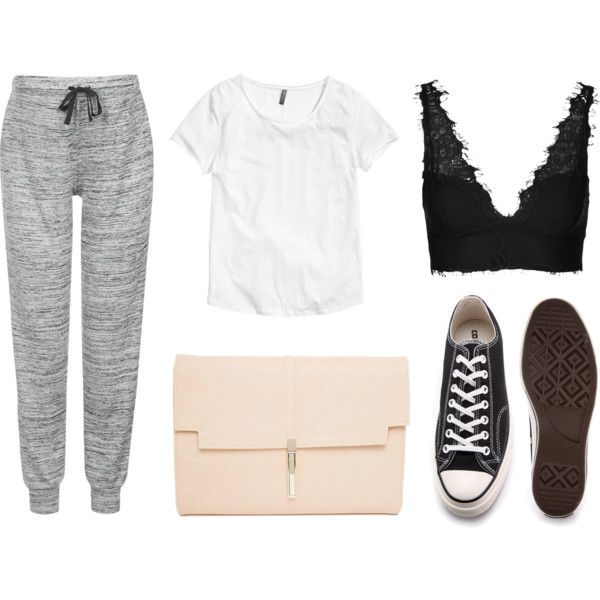 soft&comfy by olivia-apelgren on Polyvore featuring Topshop, H&M, Converse and ASOS