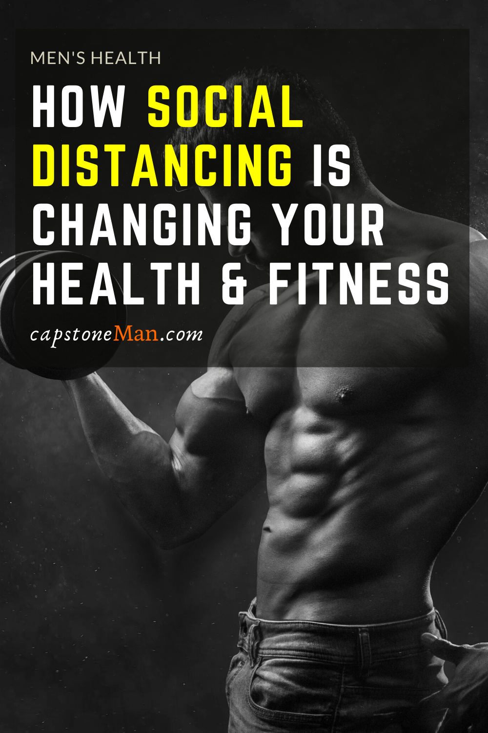 Now that quarantine and social distancing is in full force, health and fitness is changing in some interesting ways. We review some of these changes.  #health #fitness #healthandfitness #menshealth #socialdistance