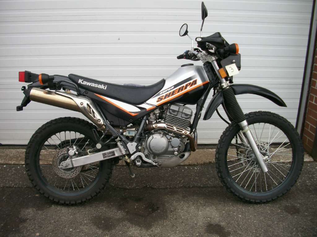 Grey 2005 Kawasaki Super Sherpa... I want to get the Sherpa in our ...