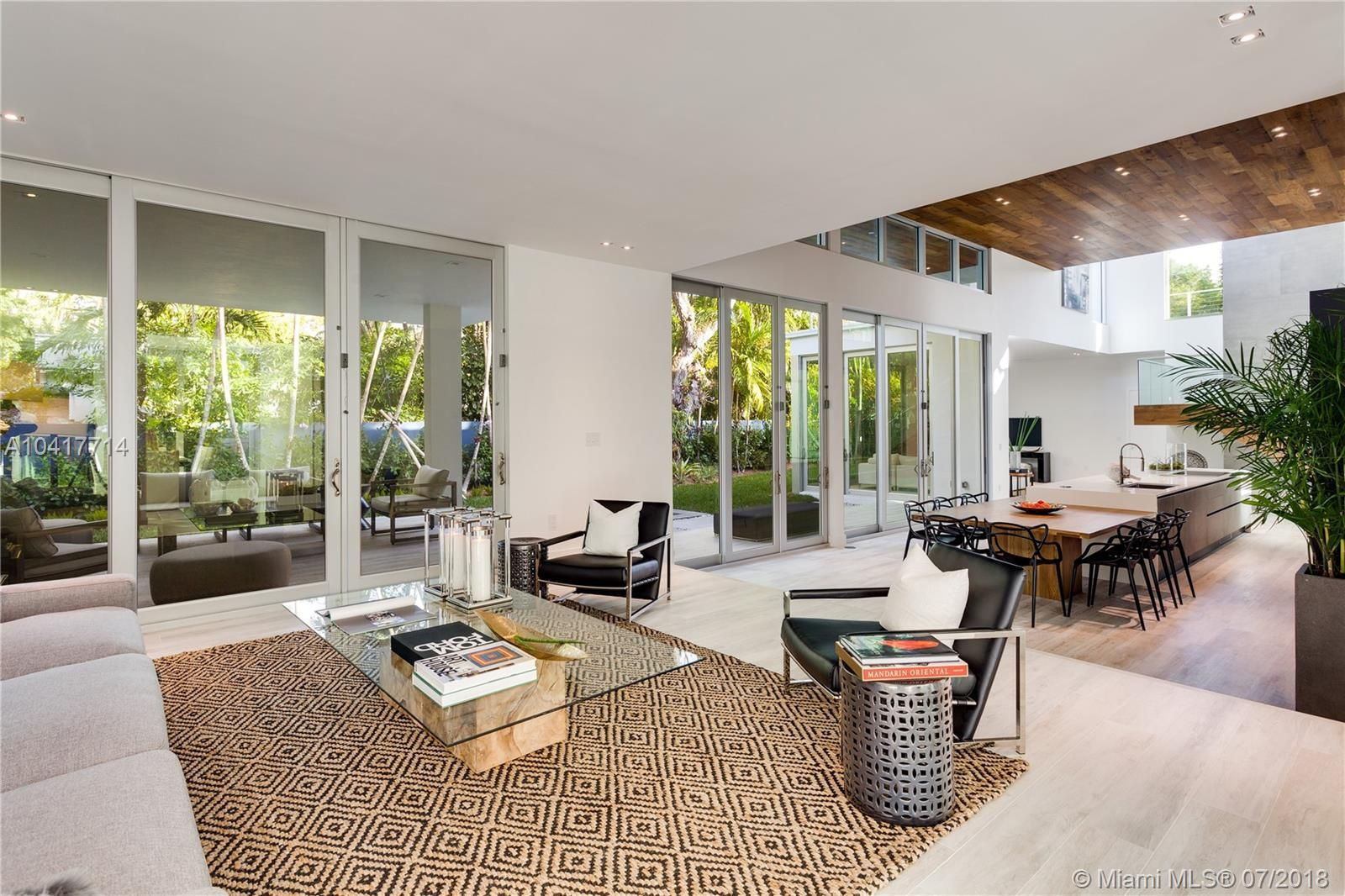Home Decor Inspiration at this Coconut Grove home for sale in