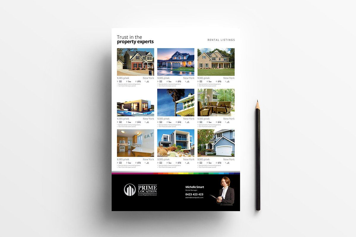 Real Estate Templates Pack Vol 2 Real Estate Templates Real Estate Flyers Flyer