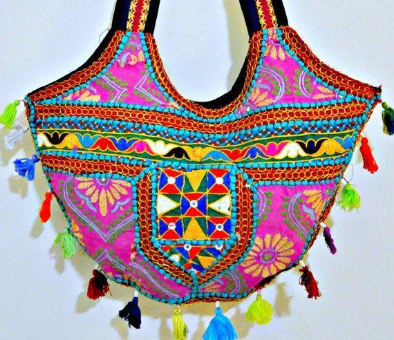 ... banjara bags, indian ethnic bags, patchwork handbags, boho bag