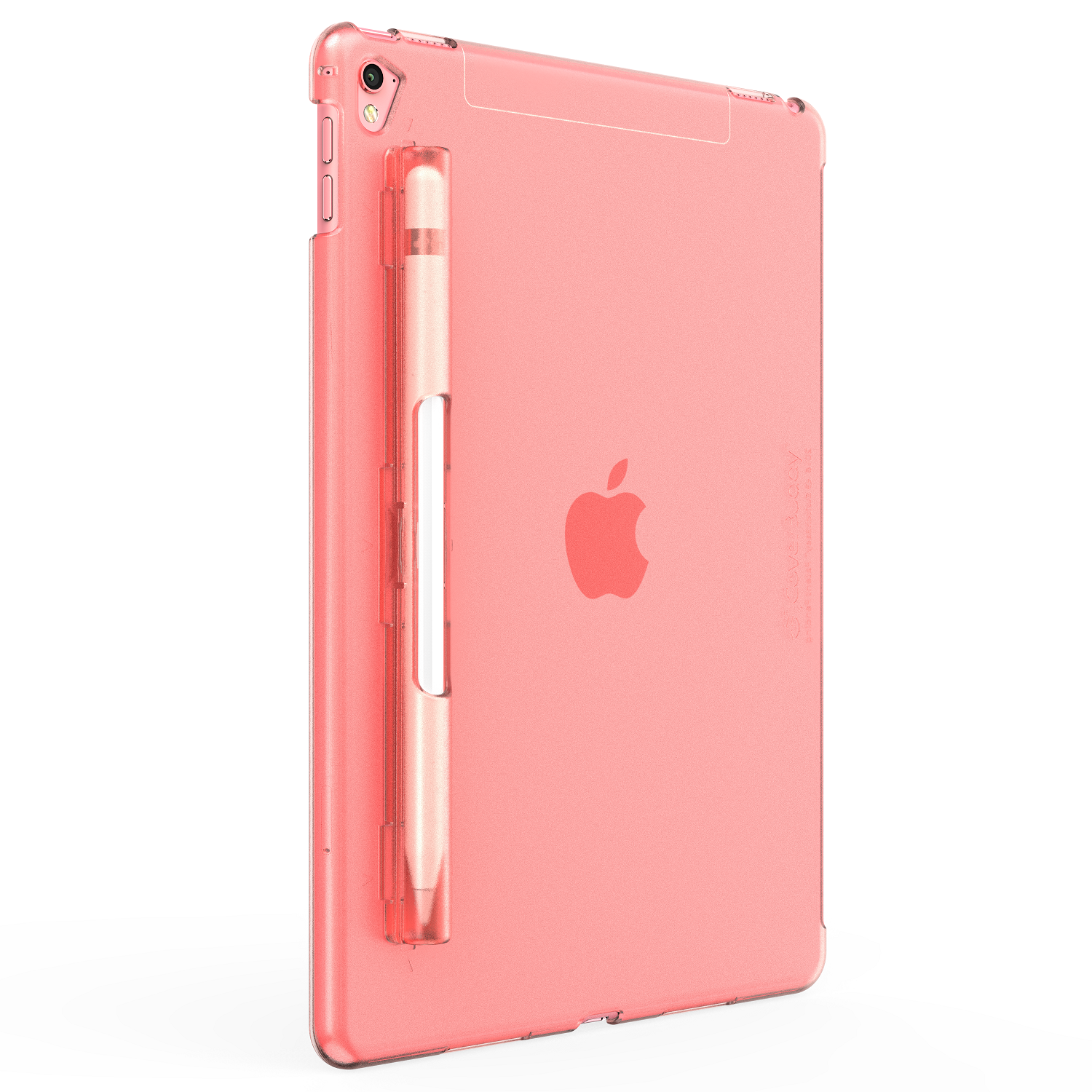 CoverBuddy offers the world's first patent pending interchangeable FULL BODY Apple Pencil holder. The design is minimalistic and smart, and its created to blend in with your iPad Pro.
