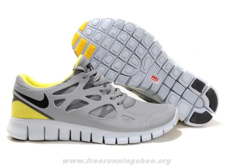 sports shoes 81246 a7bbd ... reduced shield yellow grey womens 472519 007 nike free run 2 2014 free  s 088a5 c2954