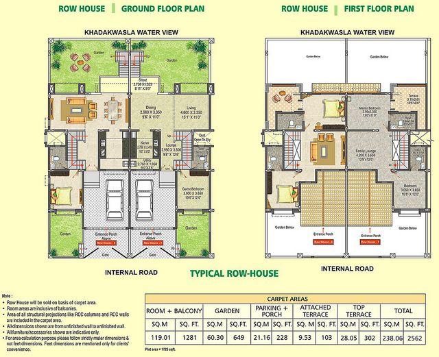 6644290101 A432666fb9 Z Jpg 640 521 Row House Design Row House House Design