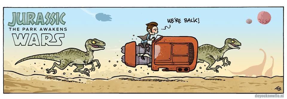 Jurassic Wars Hybrid LOL! | http://www.doyouknowflo.nl/