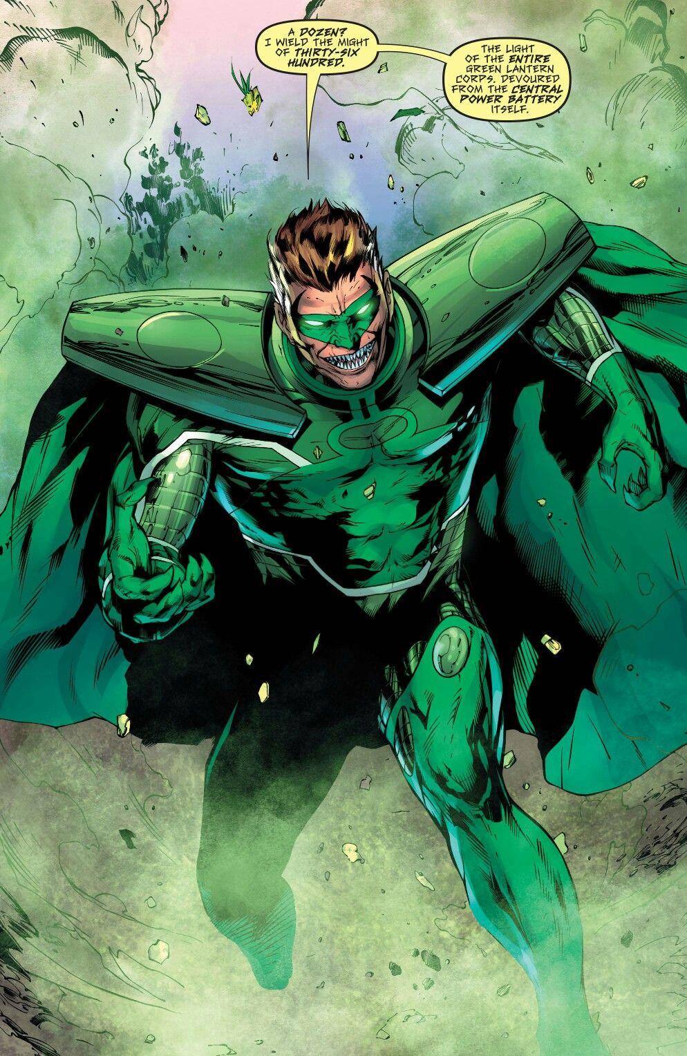 Hal Jordan DC superheroes