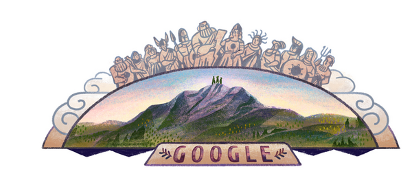doodle olympus Mount olympus, Google doodles, Olympus