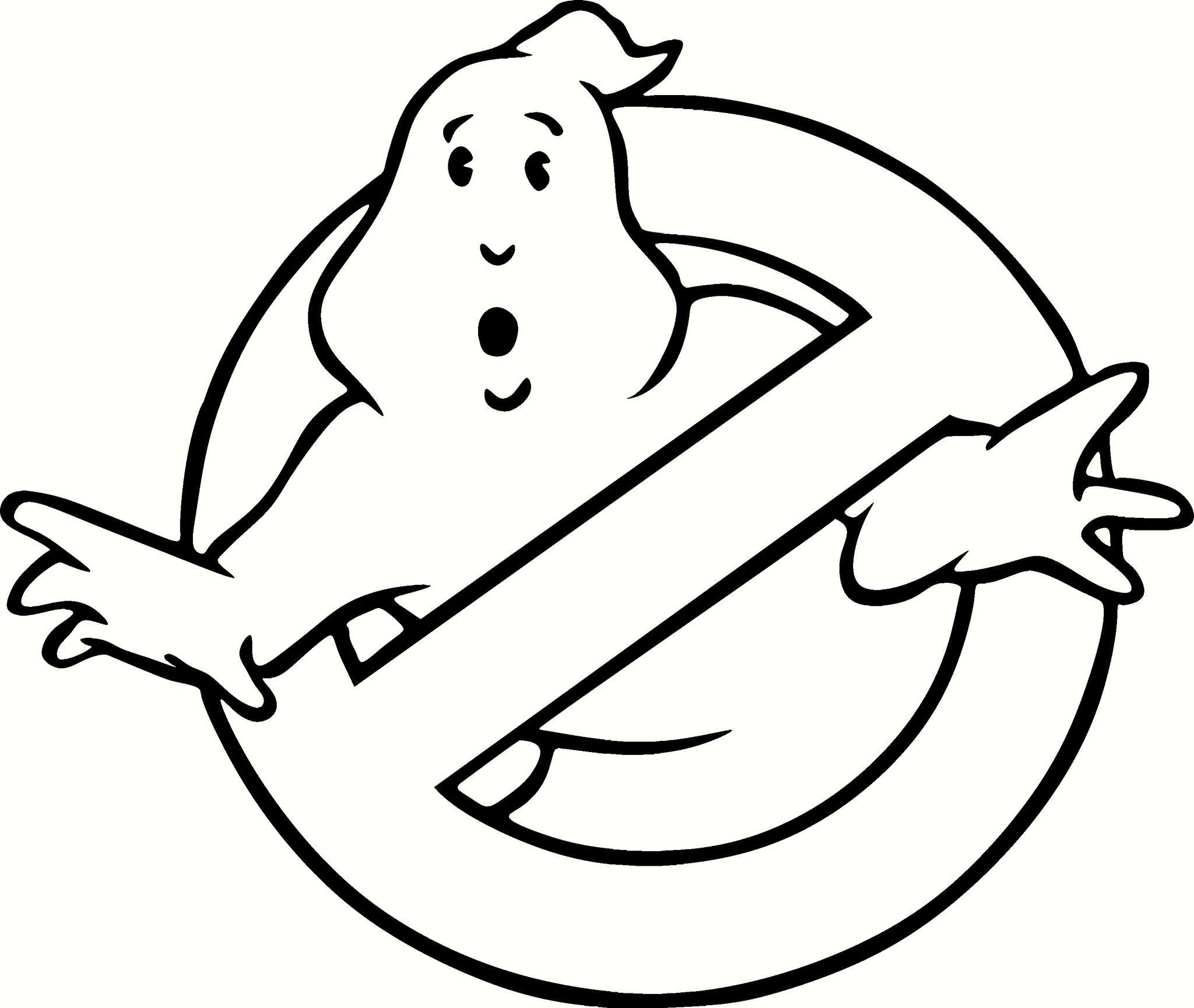 Ghost busters logo vinyl decal graphic choose your color Coloring book vinyl