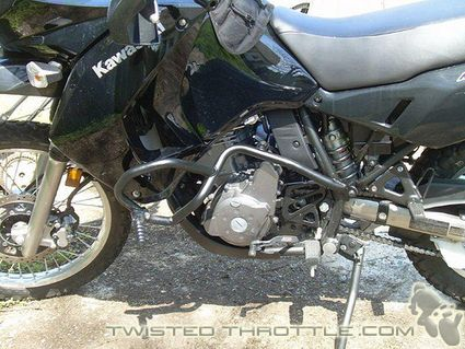 Givi Crash Bars.... $180.00 from TwistedThrottle.com