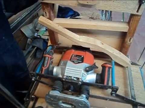 Espigadora casera para madera detallado woodworking for Mesa fresadora casera
