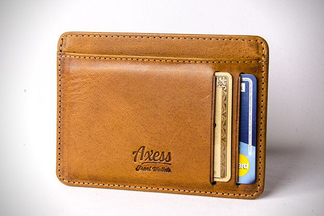 Axess Slim Front Pocket Wallets 5  87984b59a