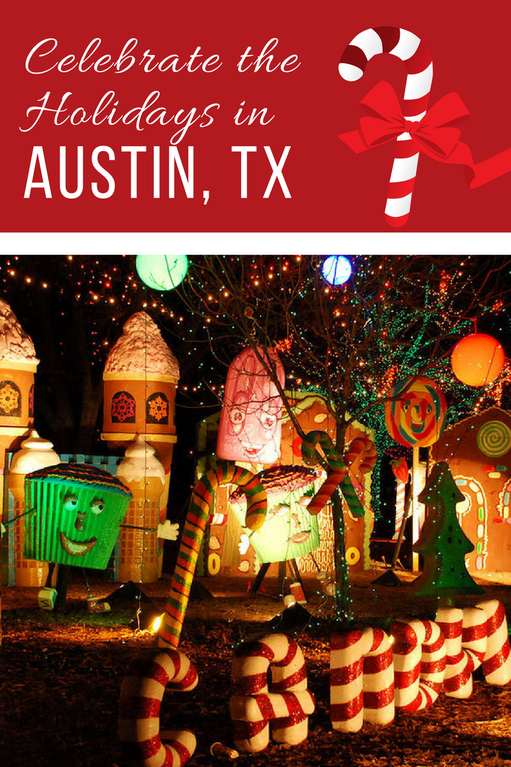 Celebrating the Holidays in Austin, Texas Christmas