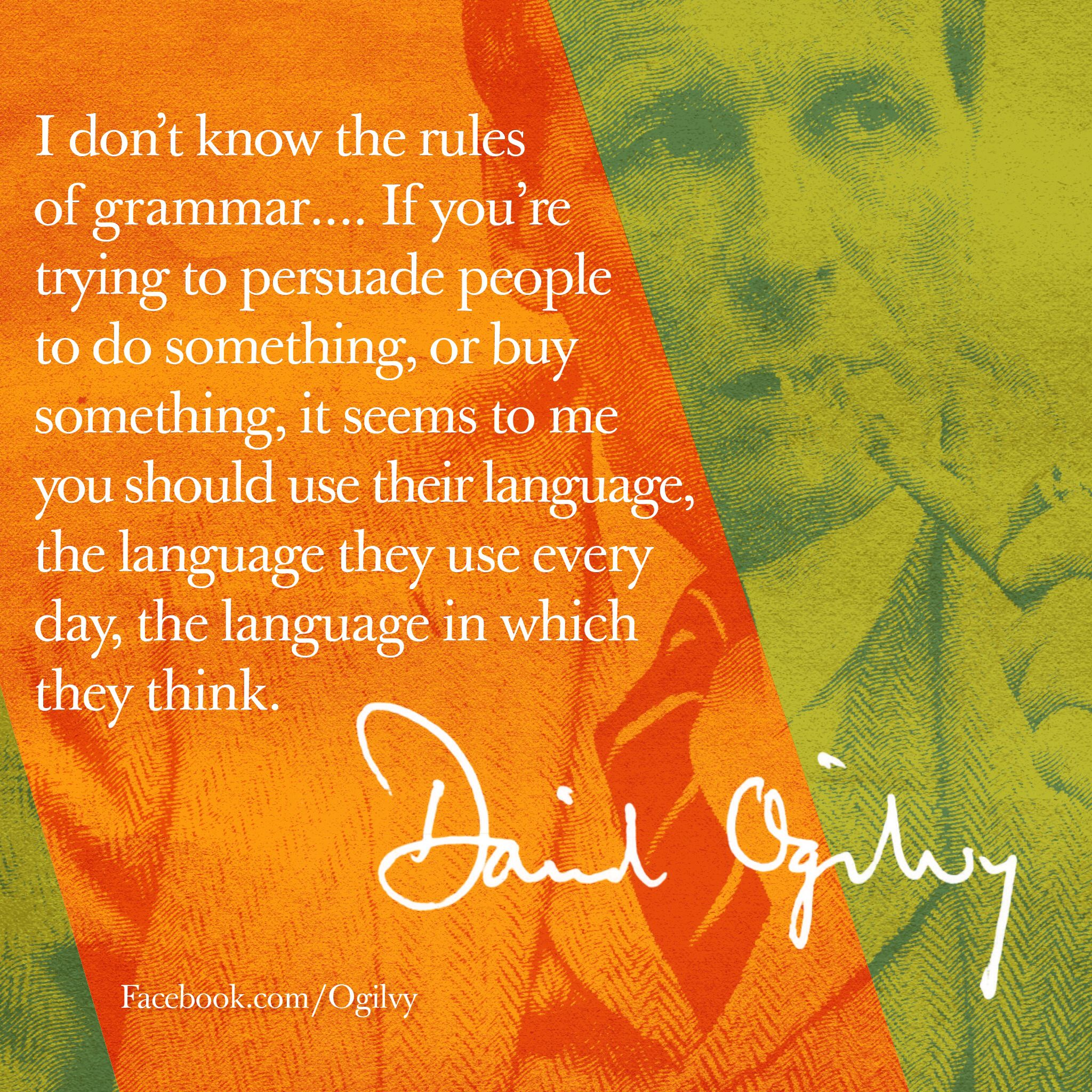 David Ogilvy Quotes Prepossessing David Ogilvy Quote  Mis Heroes  Pinterest  Work Quotes Life
