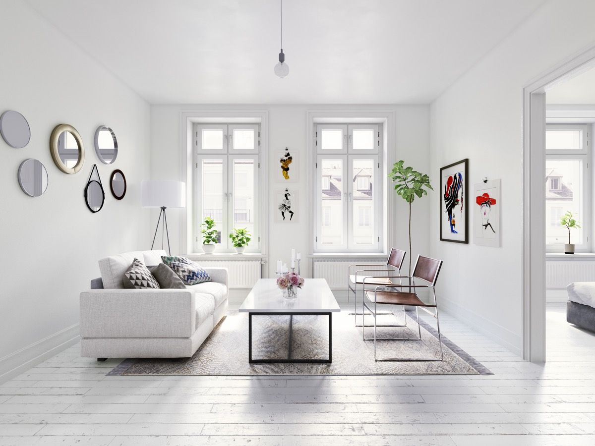 40 Gorgeously Minimalist Living Rooms That Find Substance In