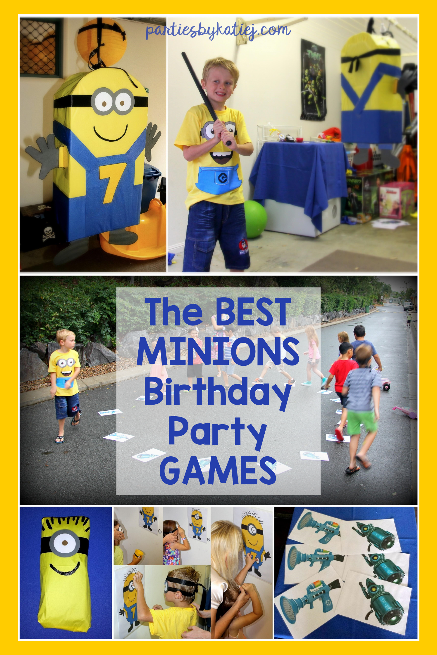 Fun Easy Minions Party Games In 2021 Minion Party Games Minion Birthday Party Minion Party