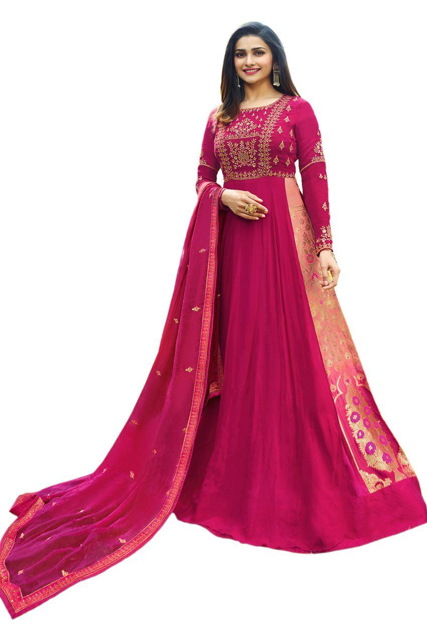 Salwar Kameez Indian Pakistani Suit ethnic Anarkali Dress Designer Party Wear AU
