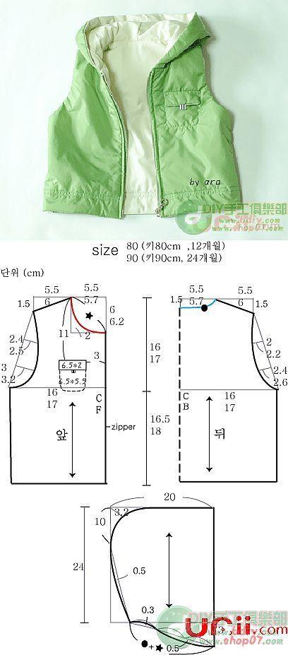 Como coser el chaleco por las manos - MK y el patrón. | Patrones Ken ...