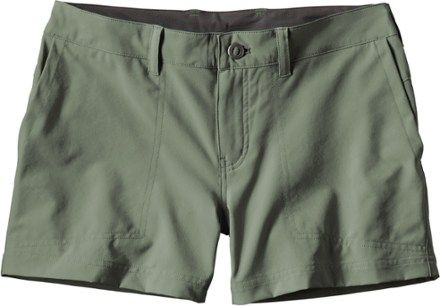 4cdb24fed0 Patagonia Women's Happy Hike Shorts Feather Grey 14 | Products ...