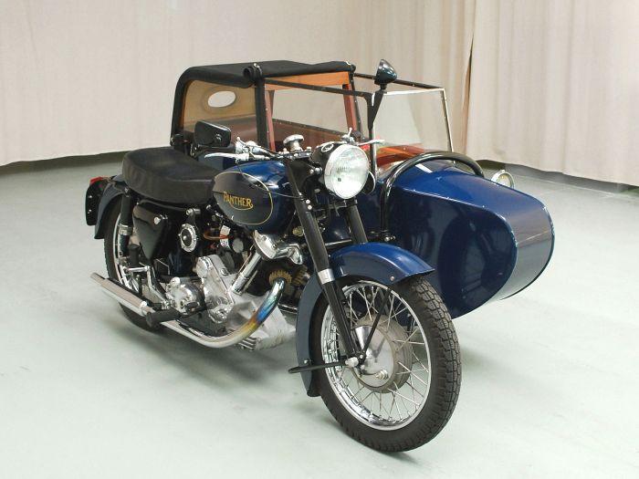 Hemmings Find Of The Day 1962 Panther M120 Hemmings Daily Motorfietsen Motor