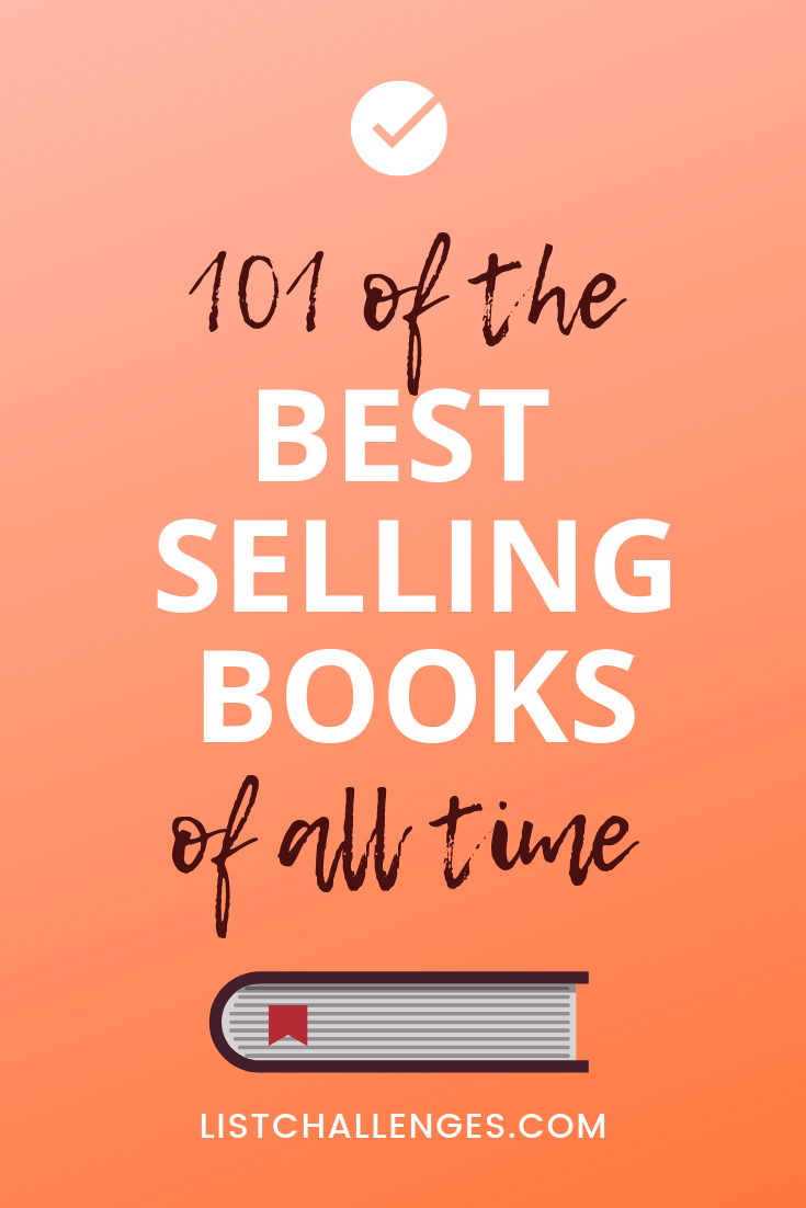 101 Best Selling Books of All Time #bookstoread
