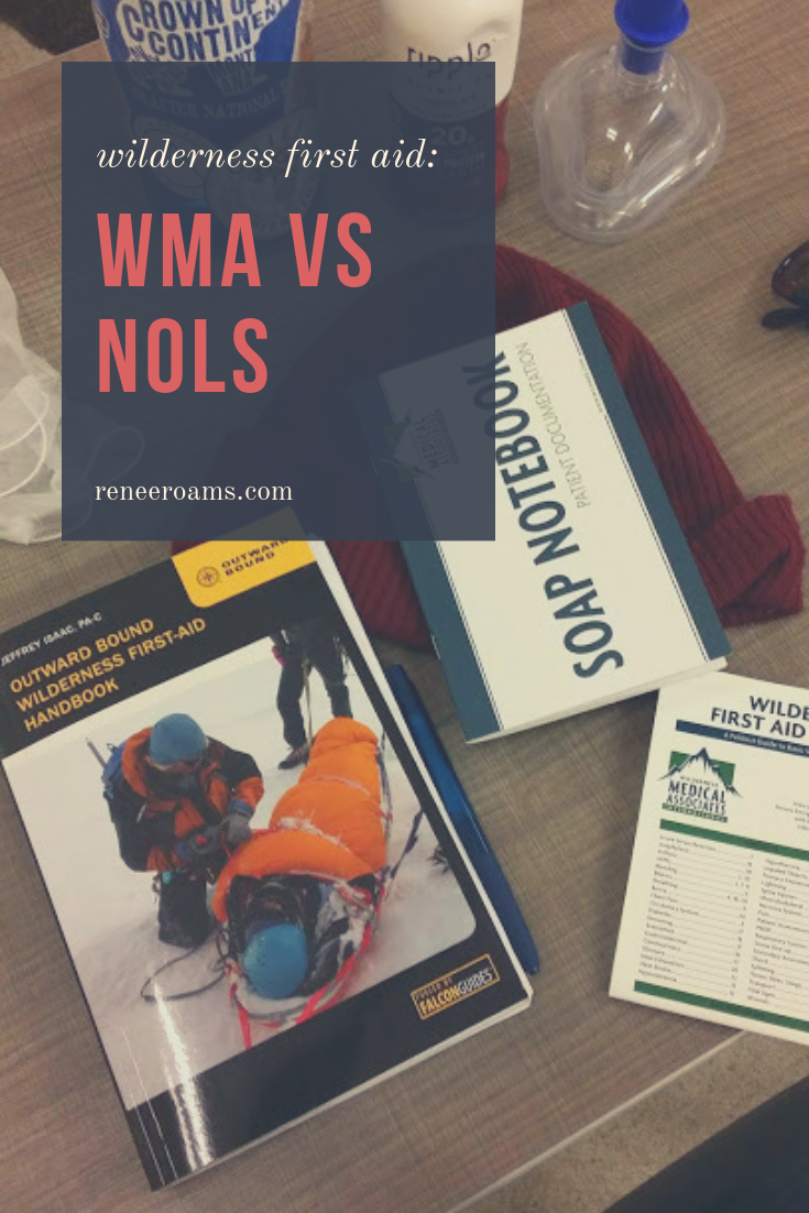 Wilderness first aid courses: WMA (Wilderness Medical