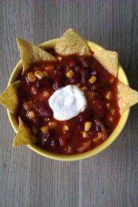 Delicious tortilla soup