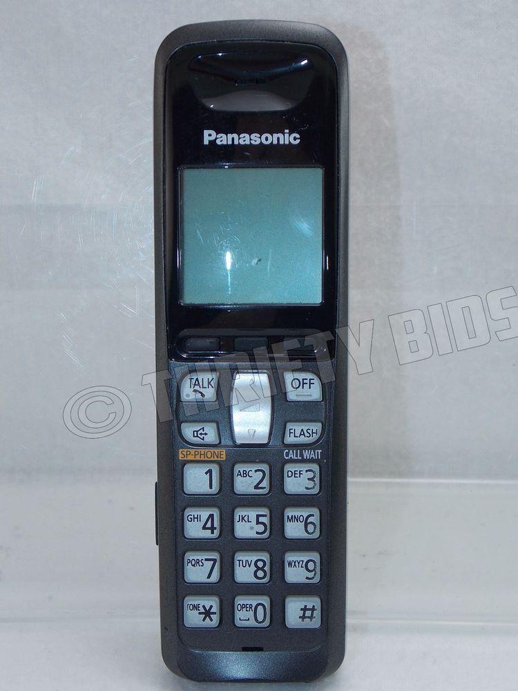 panasonic kx tga641 t expansion handset cordless phone telephone no rh pinterest com Panasonic Phone Products panasonic model no. kx-tga641 user manual