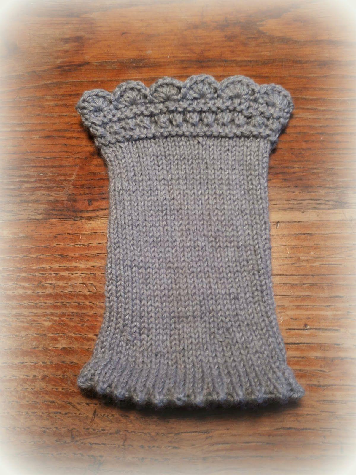 Mein Fachwerkhäuschen: Handstulpen mit Anleitung | Knitting | Pinterest