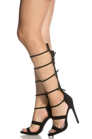 f4f2ca19b26 black strappy gladiator heels - Google Search