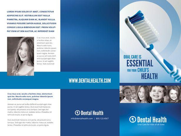Dental Brochure Design Dental And Brochures