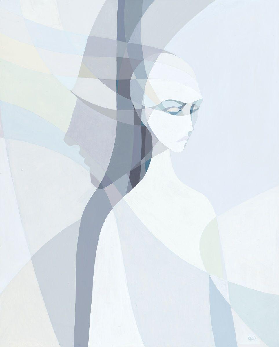 Undercurrents, Acrylic painting by Paola Minekov | Artfinder
