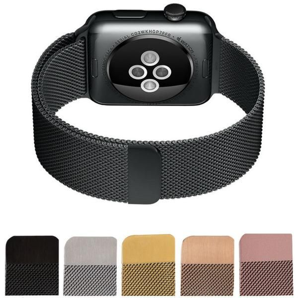 Stainless Steel Watchband Case For Apple Watch