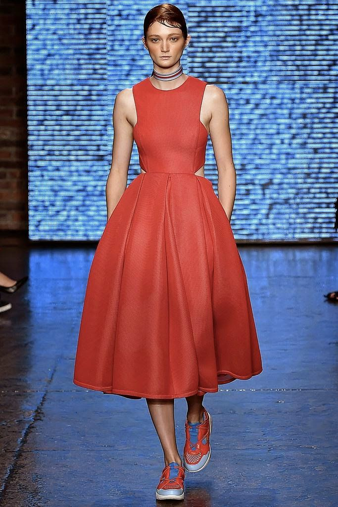 Serendipitylands: FASHION WEEK NEW YORK SPRING 2015 - DKNY