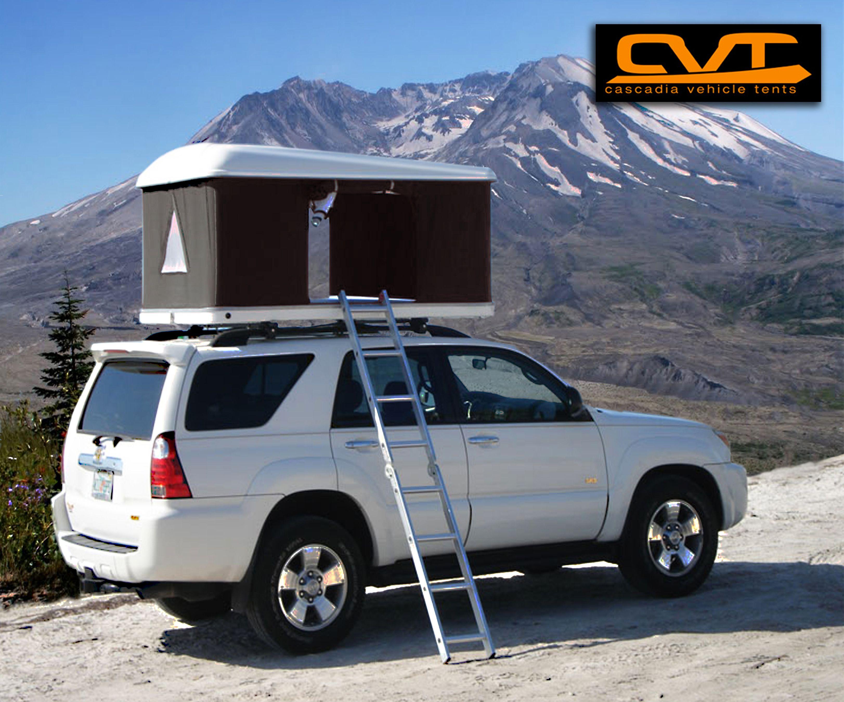 CVT Mt. St. Helens Fiberglass tent. & CVT Mt. St. Helens Fiberglass tent. | Cascadia Vehicle Roof Top ...