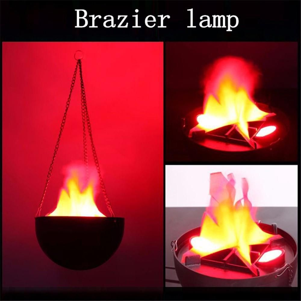 10 Pack LED Artificial Fake Fire Flame Lamp Torch Light for Xmas Halloween Party