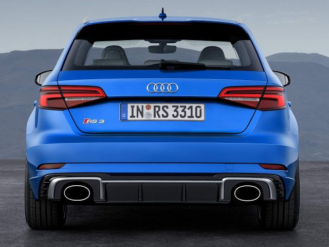 New Audi Rs3 Sportback 2018 Facelift And Engine With 405 Hp Audi Rs3 Audi Rs Hot Hatchback