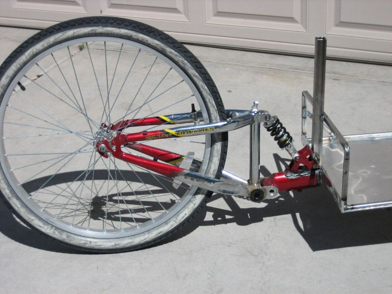 bike trailer | bike tricikli velo | Pinterest | Motorcycle trailer ...