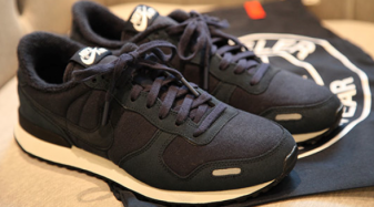 Loopwheeler x Nike Air Vortex Fuwa Max - Navy / White | Sole Collector #burnwilliams