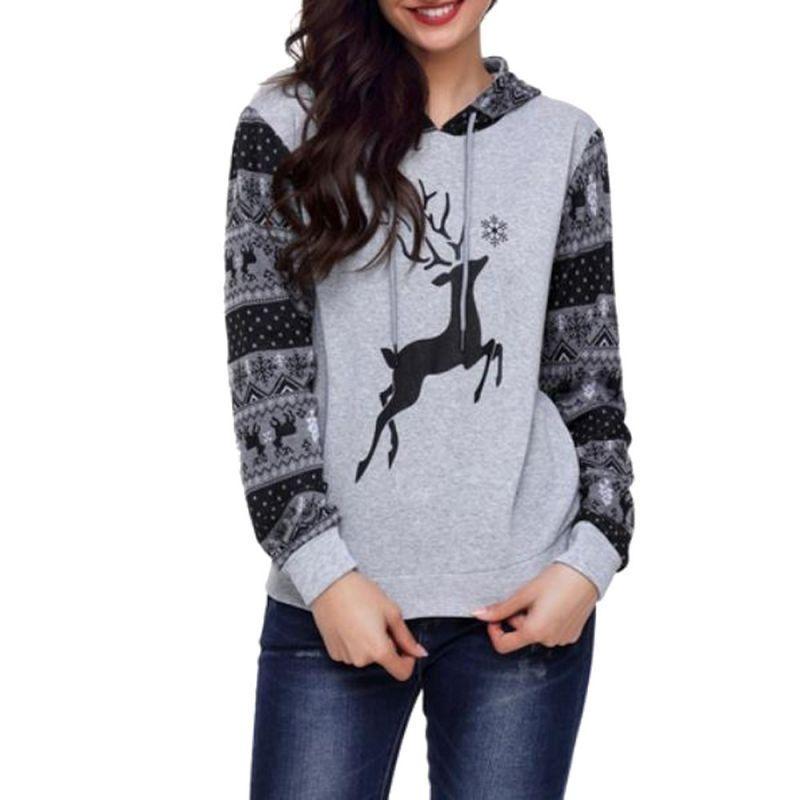 55bccd1f2a15 Hoodies sweatshirt women harajuku streetwear christmas hoodie 2018 autumn  women fashion kpop clothes kawaii korean moletom